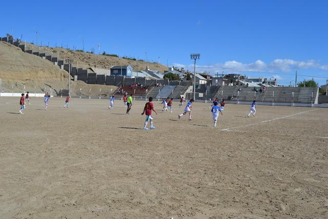 cancha de Deportivo Portugués tribunas