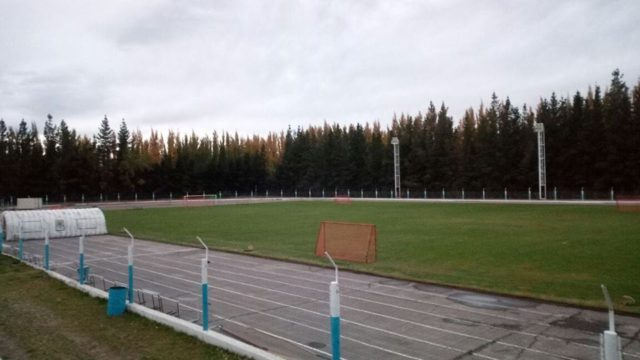 estadio municipal Los Antiguos