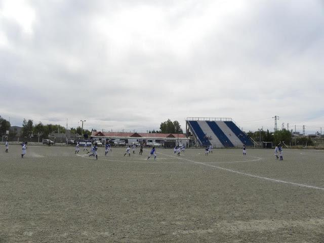 cancha de Deportivo Ferrocarril del Estado tribuna