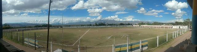 cancha de Deportivo Progreso de Tinogasta panoramica