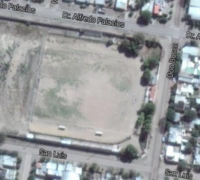 cancha de Argentinos del Norte de General Roca google map