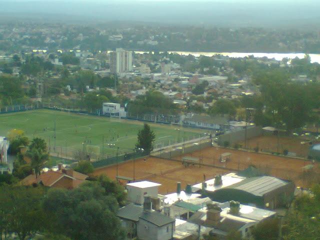 cancha de Atlético Carlos Paz vista aerea