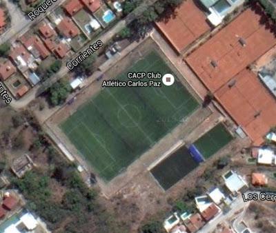 cancha de Atlético Carlos Paz google map