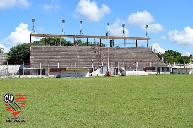 cancha de Atlético San Pedro de Jujuy tribuna