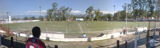 cancha de Atlético San Pedro de Jujuy panoramica