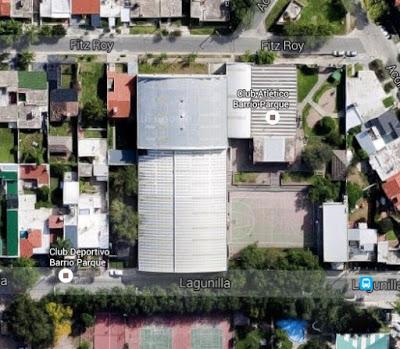 Estadio cubierto de Barrio Parque de Córdoba google map