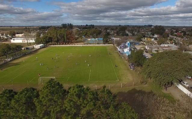 Argentino San Carlos Centro vista aerea