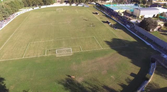 Estadio de Atlético Adelia María drone5
