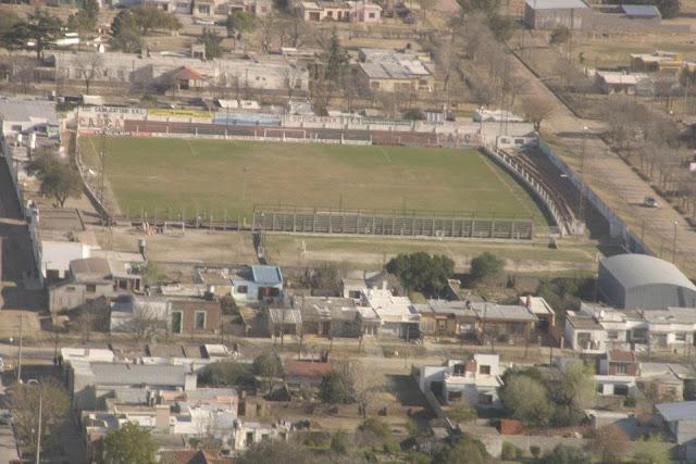cancha de Central Argentino de La Carlota vista aerea1