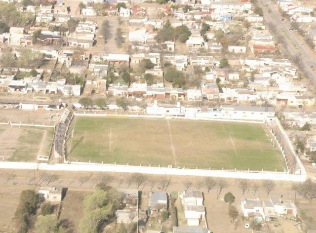 cancha de Central Argentino de La Carlota vista aerea2