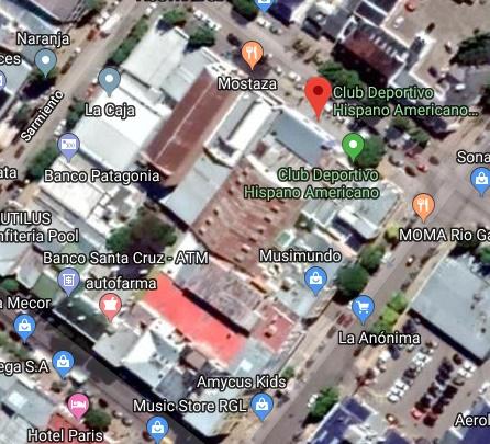 Estadio Hispano Americano google map