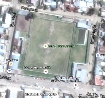 cancha de Libertad de Corrientes google map