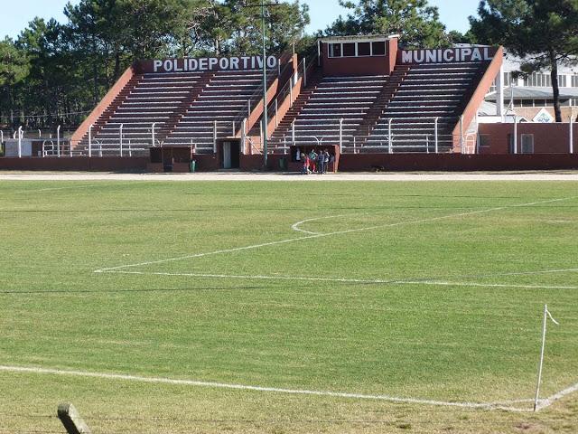 Estadio de Pinamar tribunas
