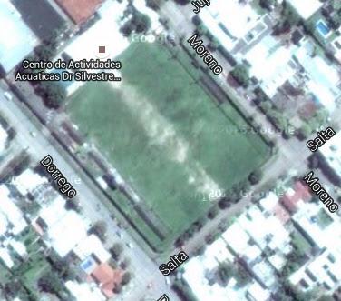 cancha de Riberas del Paraná google map