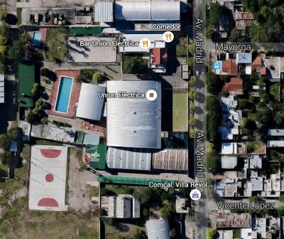 Estadio Cubierto de Unión Eléctrica google map