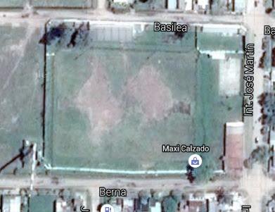 cancha de Atlético Alvear de Villa Angela google map