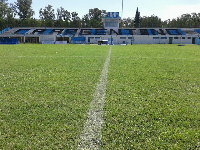 cancha de Argentino de Firmat tribuna