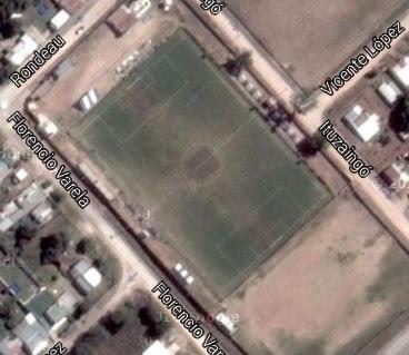 cancha de Deportivo 25 de Mayo de Victoria google map