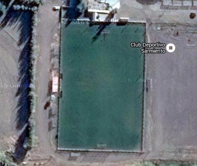 cancha de Deportivo Samiento de Chubut google map