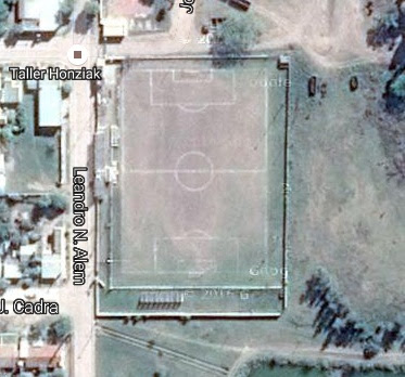 cancha de Centro Juvenil Agrario de Santa Sylvina google map