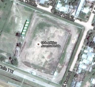cancha de Juventud Unida de Saenz Peña google map