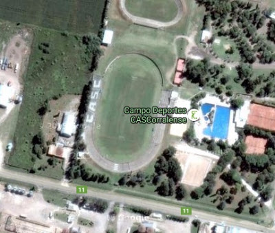 cancha de Social Corralense google map
