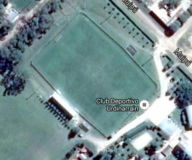 cancha de Deportivo Urdinarrain google map