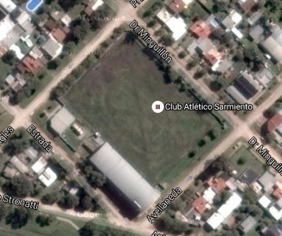 cancha de Sarmiento de Crespo google map