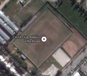 cancha de Villa Alvear de Resistencia google map