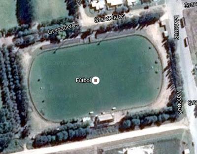 cancha de Boca Juniors de Coronel Suarez google map