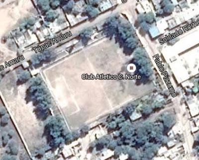 cancha de Central Norte Argentino de Cruz del Eje google map