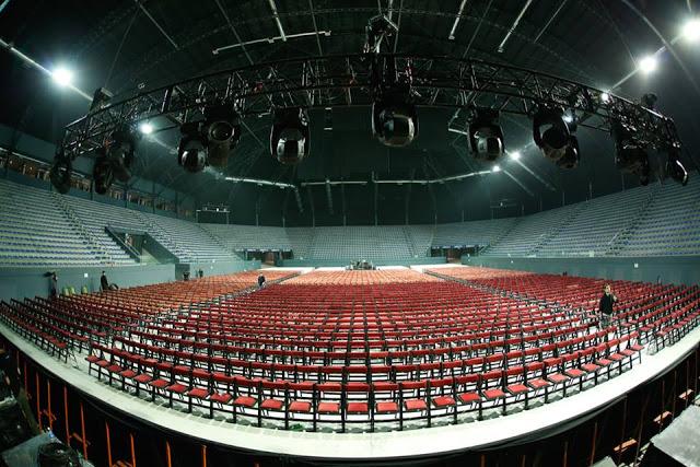 DirecTV Arena vacio