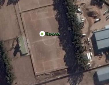 cancha de Huracán de San Luis google map