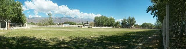 cancha de Sportivo Chacarita de Santa María panoramica