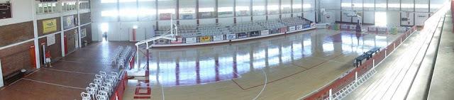 Estadio cubierto de Unión de Goya panoramica