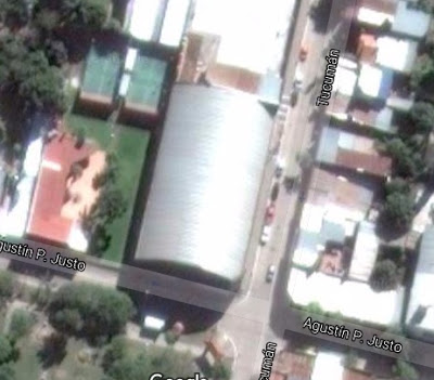 Estadio cubierto de Unión de Goya google map