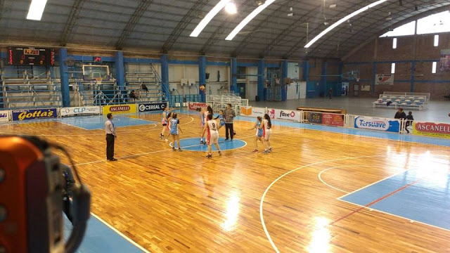 Estadio cubierto de Sportivo 9 de Julio de Río Tercero1
