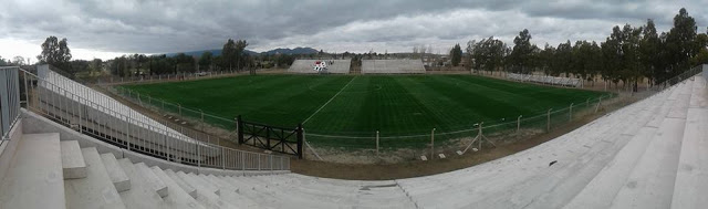 cancha Sporting Club Victoria panoramica