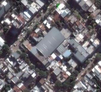 Estadio cubierto de Villa San Martín de Resistencia google map