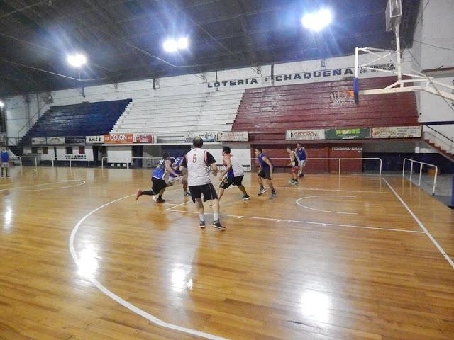 Estadio cubierto de Villa San Martín de Resistencia4