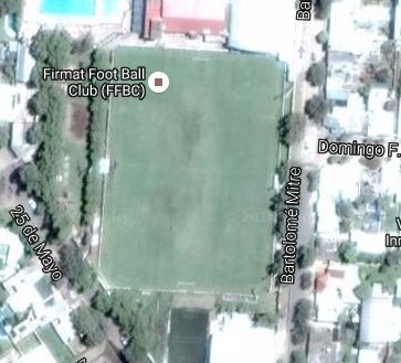 cancha de Firmat FBC google map