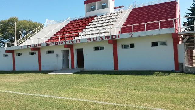 cancha de Sportivo Suardi tribuna