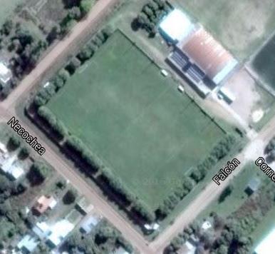 cancha de Viamonte Fc de Los Toldos google map