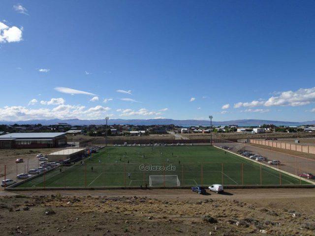 estadio césped El Calafate