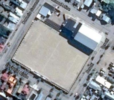 cancha de Independiente de Puerto San Julián google map