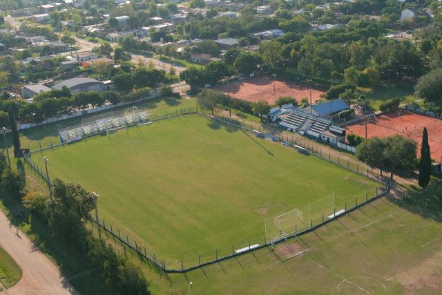 cancha de Atlético Trebolense vista aerea