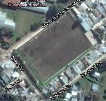 cancha de Unión Aconquija de Yerba Buena google map
