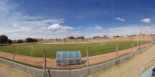 Estadio del CEAR de La Quiaca