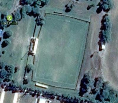 cancha de La Emilia de San Jorge google map