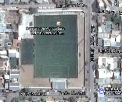 cancha de Pacífico de Neuquén google map